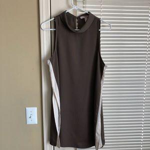 2 for $20 | Olive mockneck tunic